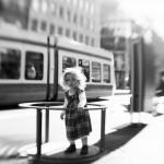 Blurred Little girl