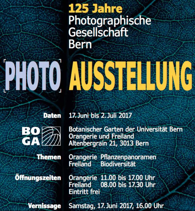 Exhibition visit: 125 Years 'Photographische Gesellschaft Bern'