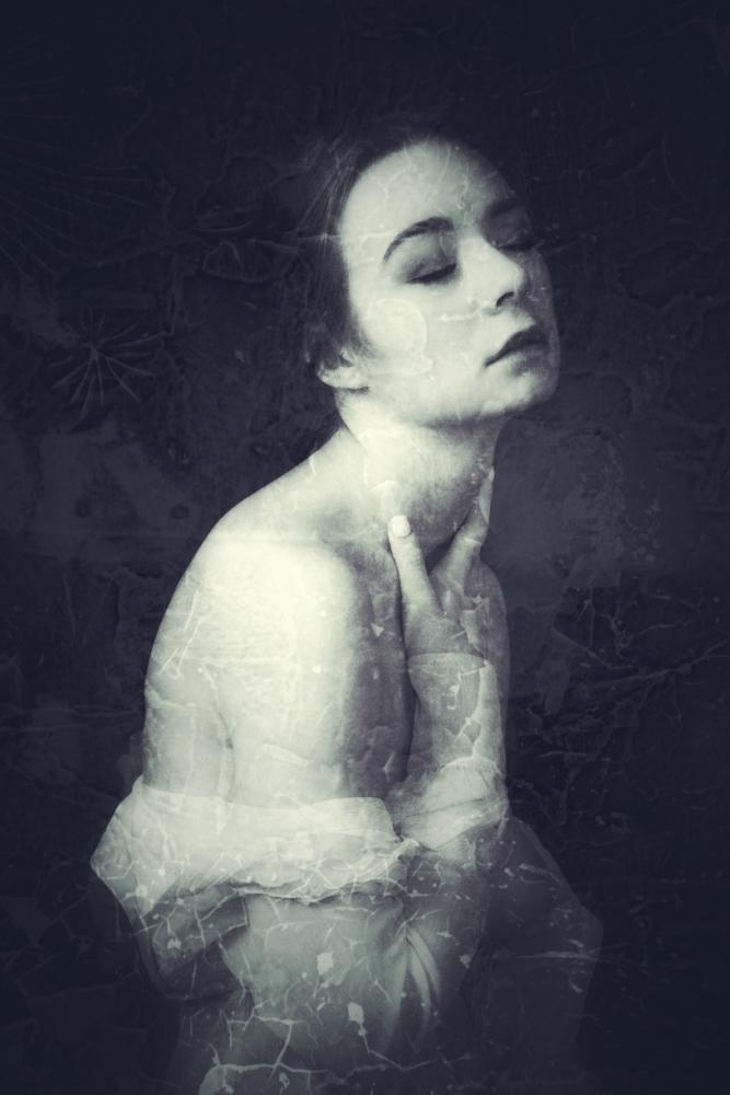 Halyna in the PICZ Studio